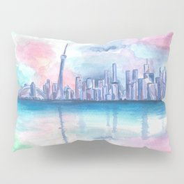 Toronto Skyline Pillow Sham