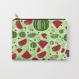 Melon popart by Nico Bielow Carry-All Pouch