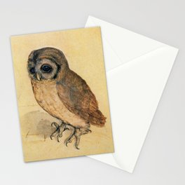 Albrecht Durer The Little Owl Stationery Cards