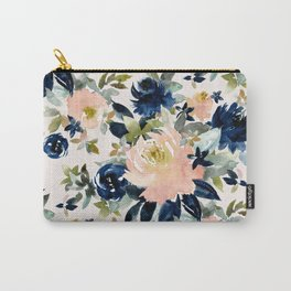 LANGUID AF Romantic Sexy Floral Carry-All Pouch
