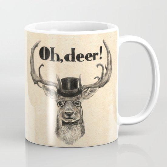 Oh, deer me! Mug