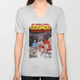 Mr Nailsin Riffs:Cosmos:War Of The Planets Unisex V-Neck