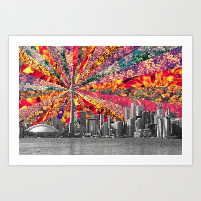 Blooming Toronto Kunstdrucke