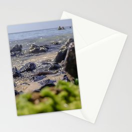 Rocks and algae Stationery Cards