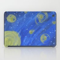 fireflies iPad Cases featuring Fireflies by Angelina Yvette