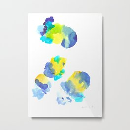 180802 Beautiful Rejection  6 | Colorful Abstract Metal Print