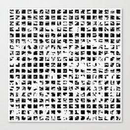 Controlled Randomness Canvas Print