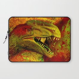 prehistoric extiction   (This Artwork is a collaboration with the talented artist Agostino Lo coco) Laptop Sleeve