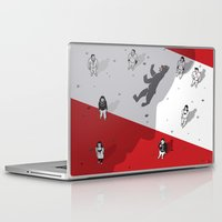 fitzgerald Laptop & iPad Skins featuring Historical Political Figure by Pier Antonio Zanini
