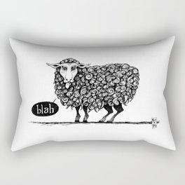 Blah! Rectangular Pillow