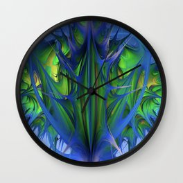 Richly Praying Wall Clock