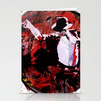 boxing Stationery Cards featuring Boxing MJ by Genco Demirer