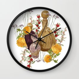 Scented Garden Wall Clock