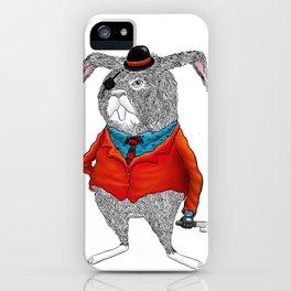 Rabbit Mafia iPhone Case