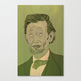 Lincoln: Ghoul King Canvas Print