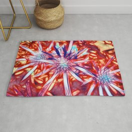 Star Bright in Red Rug
