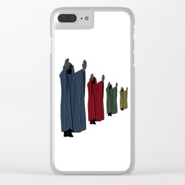 Hail to the Chief Clear iPhone Case