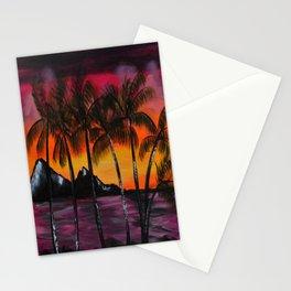 Hawaiian Tequila Sunrise 2 Stationery Cards
