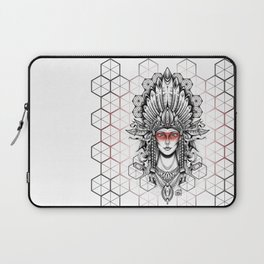 Geometric Indian Laptop Sleeve