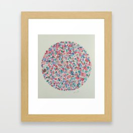 Cordon - Pink Framed Art Print