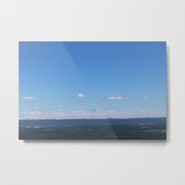 Smoke on the Horizon Metal Print