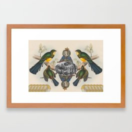 In Her Majesty's Services Framed Art Print