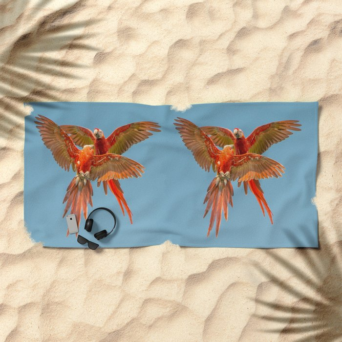 INFLIGHT FIGHT Beach Towel