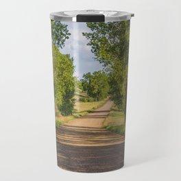 Summer Country Road, Fort Clark, North Dakota 2 Travel Mug