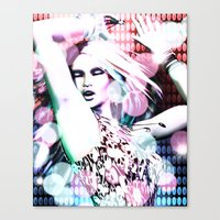 rave Canvas Prints featuring Rave by Vaia
