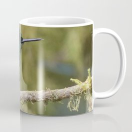 Green Brilliant Hummingbird, Santa Lucia, Ecuador Coffee Mug