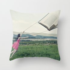 All the beauty of the world Throw Pillow