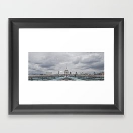 Millenium Bridge Framed Art Print