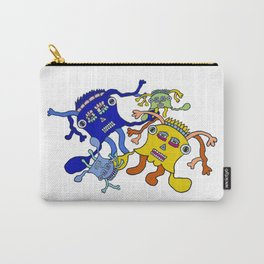 Incantation: a colorful dance to attract positive waves ! Carry-All Pouch