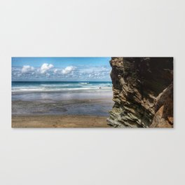 Cornwall Coast Canvas Print