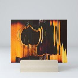liquid sound - scanogram Mini Art Print