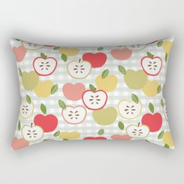 Farmhouse Apples Rectangular Pillow