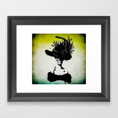 mrs skeleton Framed Art Print