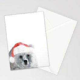 Christmas Teddy Bear Stationery Cards