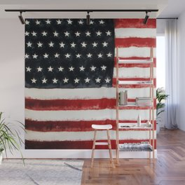 USA Flag ~ American Flag ~ Ginkelmier Inspired Wall Mural