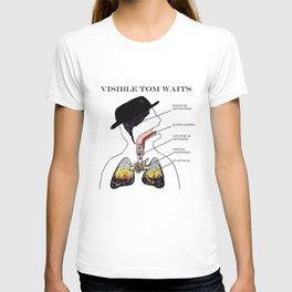 VISIBLE TOM WAITS T-shirt