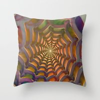 stargate Throw Pillows featuring Stargate by Klara Acel