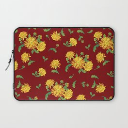 Autumn Chrysanthemums Laptop Sleeve
