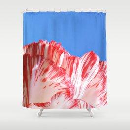 Carnation Petals Shower Curtain