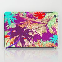 palm trees iPad Cases featuring Palm Trees by Marcella Wylie