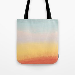 Ceramic Sunset // Multi Color Speckled Drip Summer Beach California Surf Vibes Wall Hanging Design Tote Bag