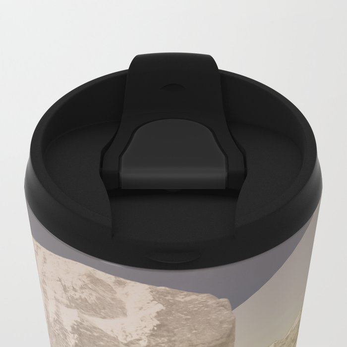 atmosphere 7 · End of the night Metal Travel Mug