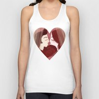 lovers Tank Tops featuring Lovers by Pendientera