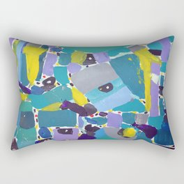 Turquoise Rectangular Pillow