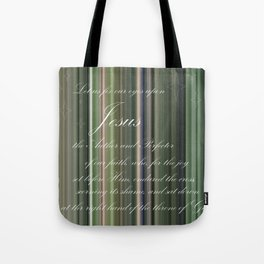 Fix Our Eyes Tote Bag