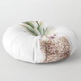 Hedgehog Pineapple Floor Pillow